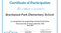This year we collected 152 pounds of food for the Greater Vancouver Foodbank! Our school wide collection has been an important ongoing initiative of Brentwood Park's for many years now.  We […]