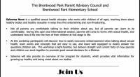 Please register for this parent workshop by email to brentwoodpark.info@burnabyschools.ca or by calling the office at 604.296.9003. Please indicate if you require babysitting and include the name and age of […]